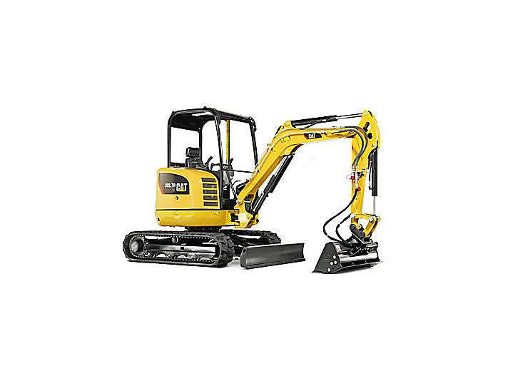 Cat Excavator Mini 302.7D CR