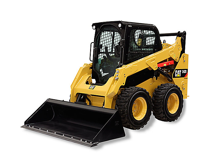 Cat Skid Steer Loader 242D